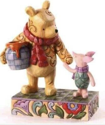 Disney Traditions Showcase Collection Pooh And Piglet Together Forever Figurine