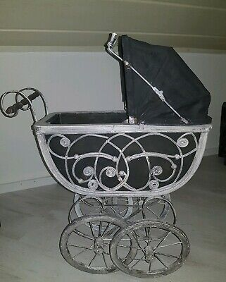 Vintage Puppenwagen Kinderwagen  Shabby Chic + Mayfair Puppe Collection 1992