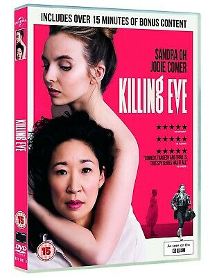 NEW and SEALED Killing Eve - Season 1 [DVD] [2018] 2 disc set.