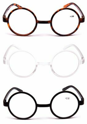 Reading Glasses Harry Potter Round Frame Classic  3 Colours & 11 strengths 8360