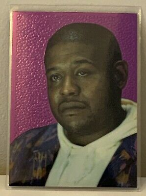Forest Whitaker - Superstars Chromium Cards - 1995 Comic Images Species (RARE)