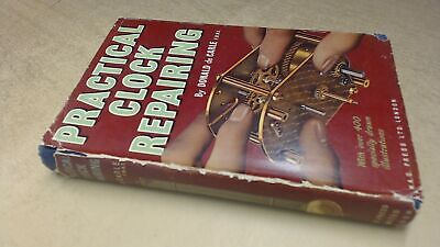 Practical Clock Repairing, Donald De Carle, N.A.G. Press, 1974, H