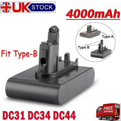 4.0Ah 22.2V Type B Vacuum Cleaner Battery For Dyson DC31 DC34 DC44 Animal DC45