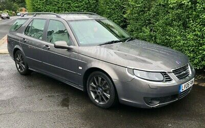 2006 06 SAAB 95 VECTOR 1.9 TiD GREY ESTATE 5DR SERVICE HISTORY AUTOMATIC