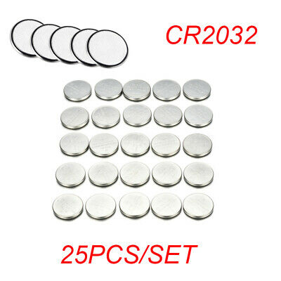 Hot 25PCS CR2032 CR 2032 3 Volt Button Cell Coin Battery for Toys Watch Remote