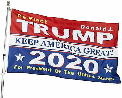 "3*5"" RE-Elect Donald J. Trump 2020 Flag Keep America Great President MAGA Flag"