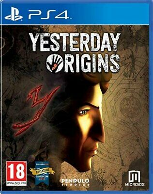 Yesterday Origins (PS4)  BRAND NEW AND SEALED - IN STOCK - QUICK DISPATCH