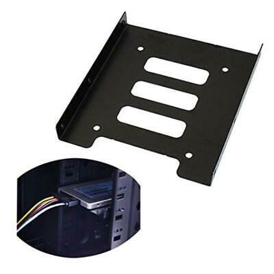 2.5 Inch SSD HDD to 3.5 Inch Metal Mounting Adapter Bracket Dock Hard Drive c