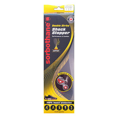 Sorbothane Double Strike Insoles * Brand New & Improved *Free P & P*
