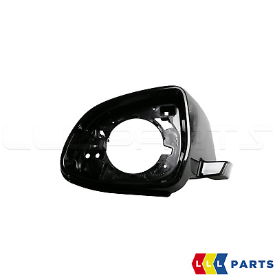 New Genuine Bmw X3 X4 X5 X6 Front Wing Mirror Black Supporting Ring Left N/S