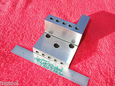 Angle Plate Compound Machinist/Toolmaker Sp-136 Bolt On Inspection Grind Mill Qa