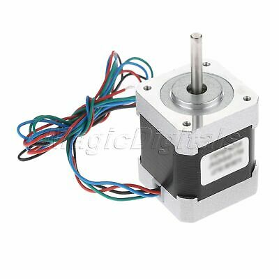 NEMA 17 1.8° 2Phase 4Wire 48mm 49Ncm/69.0oz.in Bipolar Stepper Motor 2.5A 12V