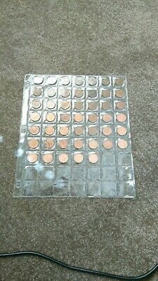 47no 1p DATE RUN ONE PENCE COINS 1971 TO 2016 CIRCULATED
