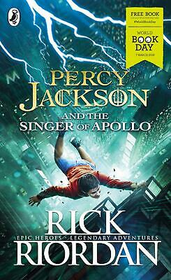 Percy Jackson And The Singer Of Apollo By Rick Riordan New Paperback Book Gift