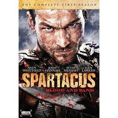 DVD Spartacus Blood and Sand Complete First Season 1 One Widescreen NEW
