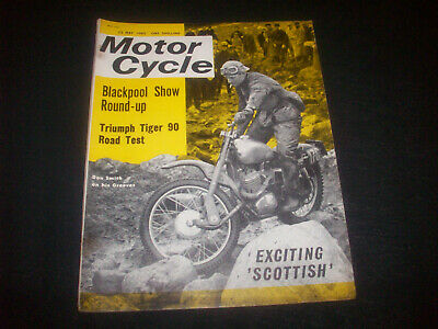 Zeitschrift ' The Motor Cycle ' Nr. 3128 23.Mai 1963 Triumph Tiger 90- 6 Days
