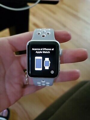 Apple Watch Series 2 38mm Silver Aluminum, Nike Edition - Used, Great Condition