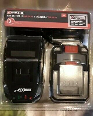 Parkside Pap 20 A1 Battery + Charger Plg 20 A1 20V 2Ah 2,4A