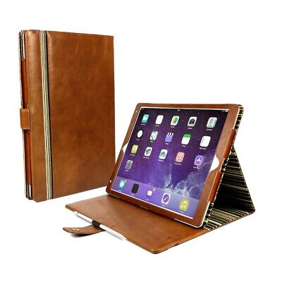 Alston Craig Personalised Leather Case Cover for iPad Pro 11 2018 Brown