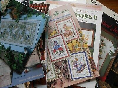 Lavender /& Lace 49 EMMA/'S GARDEN Counted Cross Stitch Pattern and required Beads