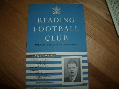 southern section v northern section 16/3/1955 @ reading fc