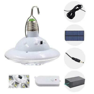E27 22LED Solar Light Portable Outdoor Camping Tent Remote Control Hanging Lamp