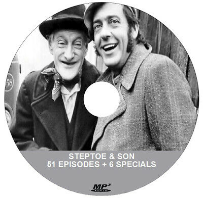STEPTOE AND SON ( 1 x .MP3 AUDIO DVD ) All Episodes + Specials & FREE SOFTWARE