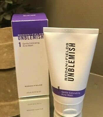Rodan + and Fields New & Improved UNBLEMISH STEP 1 GENTLE EXFOLIATING ACNE WASH