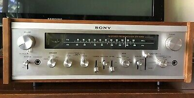 Vintage Sony STR-6065 Stereo AM/FM Receiver Excellent Condition