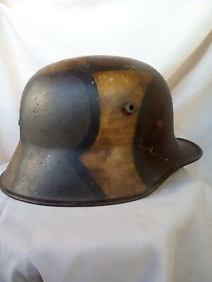 Ww1 Casque Allemand Camoufle 1914-1918