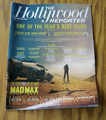 The Hollywood Reporter   Mad Max Fury Road  One of the Best Films  January 2016