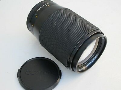 Carl Zeiss Contax/Yashica SLR 200mm f:3.5 Tele-Tessar T* lens with cap, Germany