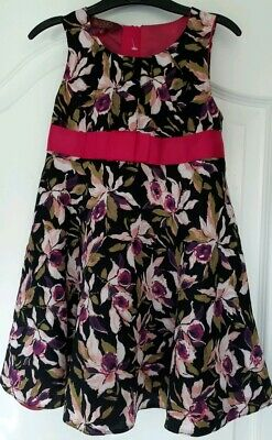 Baker by Ted Baker girls age 4yrs floral dress Excellent condition.