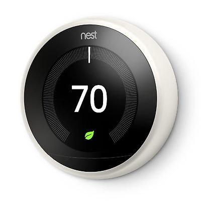 Nest 3rd Generation Learning White Programmable Thermostat