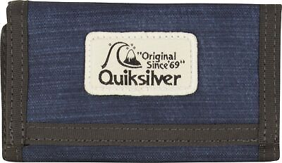 """ykp0 MENS QUIKSILVER /""""THE EVERYDAILY/"""" TRI-FOLD WALLET GOLD FUSION"""