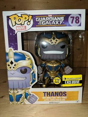 "Funko POP! Guardians of the Galaxy: GITD 6"" Thanos EE Exclusive"