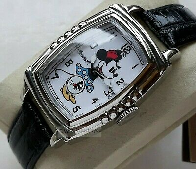 Women's Watch Ingersoll Manual Winding Character Mickey Mouse Vintage Style