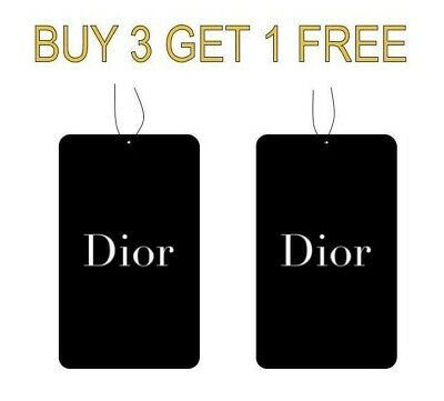 Christian Dior Perfume Car Air freshener 100% High Quality (Buy 3 Get 1 Free)