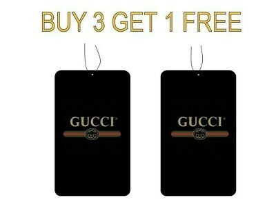 Gucci Perfume Car Air freshener 100% High Quality (Buy 3 Get 1 Free)