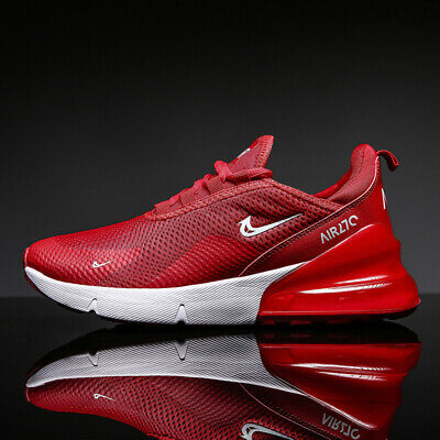 Men's Air 270 Cushion Jogging Shoes Sneakers Flyknit Outdoor Athletic Running