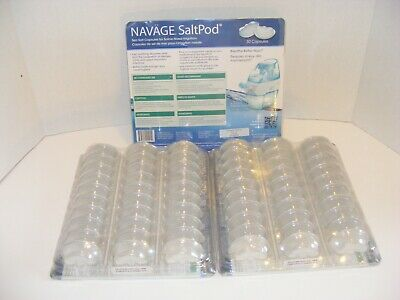 Navage Salt Pods Lot of 90 CT Use w/ Navage Nasal System NEW SEALED Saltpod