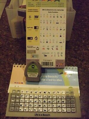 Cricut Cartridges (used) with booklet and overlay - you pick