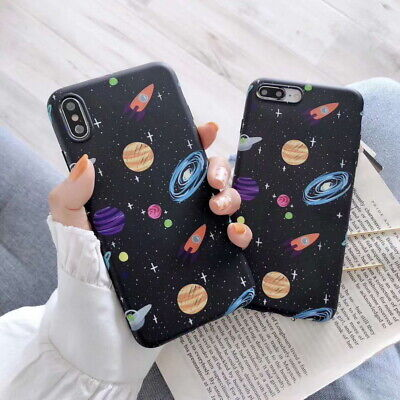 IMD Universe Case Shockproof Soft Silicone Cover For iPhone XS Max XR 8 7 6 Plus