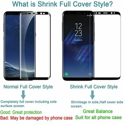 3D Edge Curved Full Coverage Screen Protector For Samsung Galaxy A20 A30 A40 A50