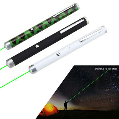 3pcs USB Rechargeable Green Laser 532nm Pointer Lazer Beam Buil-in Battery<1mw