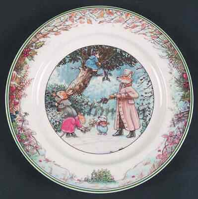 Villeroy & Boch FOXWOOD TALES Pick Holly Salad Plate 5397933