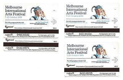 c2000s - MELBOURNE METCARD - 2004 MELBOURNE INTERNATIONAL ARTS FESTIVAL