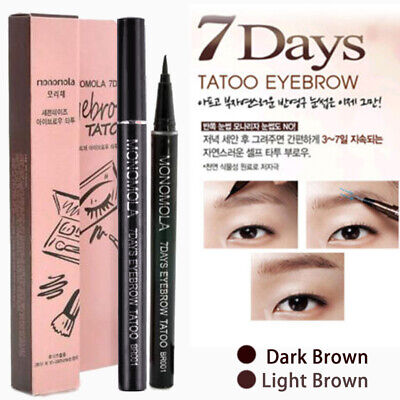 7Jours Sourcils Pen Tattoo Eye Liner Long Lasting Semi Permanent Make Up Eyebrow
