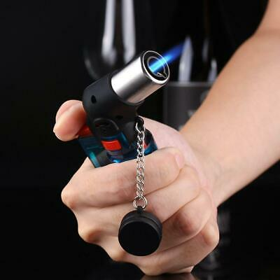Refillable Butane Cigar Cigarette - Windproof Lighter Adjustable Jet Flame Torch