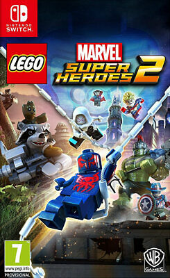 LEGO Marvel Superheroes 2 (Switch)  BRAND NEW AND SEALED - QUICK DISPATCH